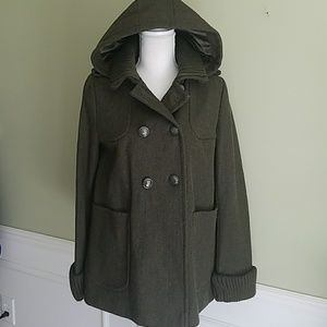Topshop Wool Pea Coat